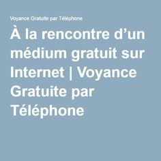 Rencontre en ligne telephonique