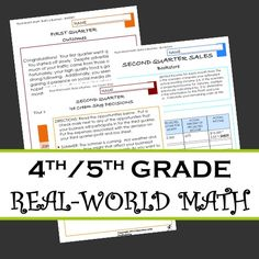 This real-world math simulation is a great way to work with decimals and number sense.  Students go through 4 quarters, building their business - making decisions and discovering what happens.  3 different businesses included.