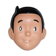 Plastic emoticon masker met lol het masker is gemaakt van zacht plastic heeft uitsparingen bij - Decoratie voor halloween is jezelf ...