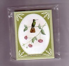 Hummingbirds Limited Edition set of 20 GDS Trading Cards make any offer over £1