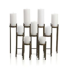 Light a beautiful fire and keep safe fireplace screens and tools from Crate and Barrel. Also shop fireplace accessories like log holders and candelabras. Fireplace Candelabra, Home Fireplace, Fireplace Ideas, Fireplaces, Fireplace Accessories, Home Accessories, Apartment Needs, Lantern Candle Holders, Room Essentials