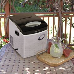 Dometic Portable Stainless Steel Ice Maker - Dometic HZB-15S - Ice Makers - Camping World