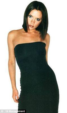 Victoria Beckham Spice Girls promo pic