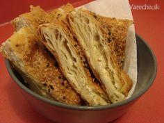 Börek z lístkového cesta (fotorecept) - Recept Ravioli, Cabbage, Pizza, Vegetables, Erika, Indie, Hampers, Brot, Vegetable Recipes