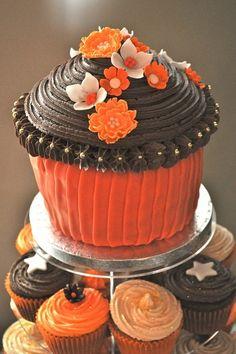 Autumn Wedding Cupcake