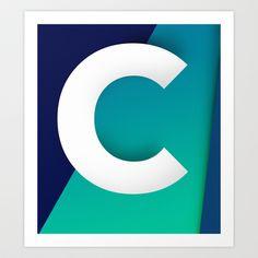 see C Art Print by Konrad Pitala - $24.96