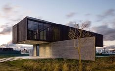 Image result for cantilever house in the woods