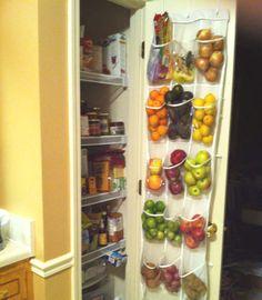 Ranger les légumes dans un garde-manger