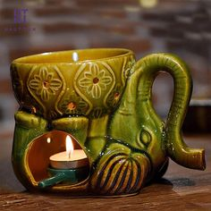 Thai Style Elephant Aroma Lamp  Price: 40.95 & FREE Shipping