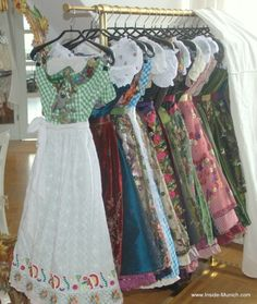 Couture Oktoberfest Dirndl by Lola Paltinger. Stunning creations full of luxury.