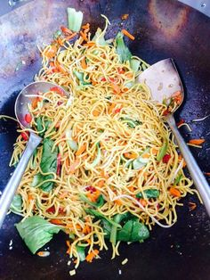 hokkien noodles with vegetables - salt and chilli catering adelaide