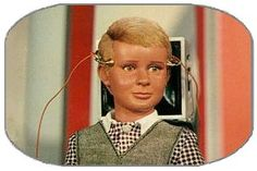 JOE 90  - He was my  favourite -  I thought much better than Captain Scarlet and Thunderbirds!  When I look at him now he reminds me of the face of the boy on the polio collection boxes that stood outside of shops!