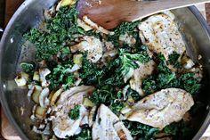Creamy Fennel Kale Chicken
