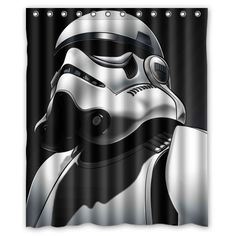 Death Star Troopers Bathroom Wars Poster Free Shipping Products Decor Shower Curtains Decorating