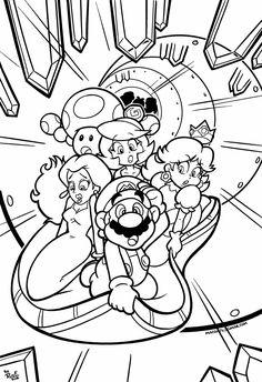 150 meilleures images du tableau coloriage Super Mario