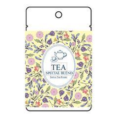 紅茶ラベル テンプレート【ラベル印刷ねっと】
