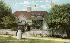 Bexhill Postcard the Old Manor House (Digital Image) East Sussex, Digital Image, Old Town, Old Things, Wildlife, Landscape, House Styles, Pictures, Photos