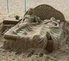 Awesome sand art