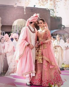 Looking for Bridal Lehenga for your wedding ? Dulhaniyaa curated the list of Best Bridal Wear Store with variety of Bridal Lehenga with their prices Indian Bridal Outfits, Indian Bridal Lehenga, Indian Bridal Fashion, Bridal Dresses, Bridal Sari, Bollywood Bridal, Diy Wedding Outfits, Bridesmaid Dresses, Pink Bridal Lehenga