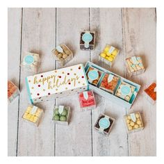Tasty Tuesday! Our Sugarfina candy cubes make an excellent gift for that hard to buy for person on your list! They're as tasty as they are adorable and you can mix and match to make your ideal three pack! #sugarfina #candy #giftideas #yum