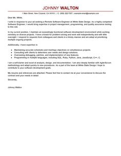 cover letter software development manager this software development