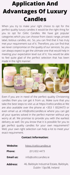 We have got popular categories which you can choose from classic range, private label, bolsius candles, etc. So, you can find that it has truly met your requirement out of it. Candles Online, Luxury Candles, Private Label, You Tried, Celtic, Range, Popular, Make It Yourself, Canning