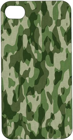 GREEN CAMOUFLAGE CAMO Phone Case I Phone or by hollyannasdesigns, $19.99