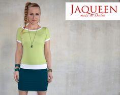 Minikleid Jersey von Jaqueen auf DaWanda.com