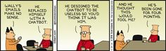 Wally's Email Makes No Sense - Dilbert by Scott Adams