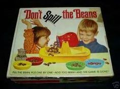 Don't Spill the Beans game 1970s.