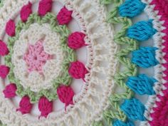 Marianne's #Crochet Contribution to #mandalasformarinke