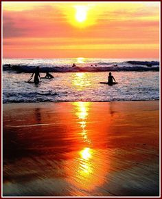For more info about Half Moon Bay, California Annual Activities, visit us… Beautiful Sunrise, Beautiful Beaches, Surf City, Just Dream, California Dreamin', Vacation Spots, Places To See, Surfing, Scenery