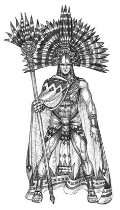 Paymaster Games is raising funds for Going Native: From Out of the Mists on Kickstarter! Native American and Polynesian themed models to represent Men, Gods and Monsters for historical and high adventure settings. Dark Art Illustrations, Illustration Art, Quetzalcoatl Vector, Aztec Weapons, Aztec Warrior Tattoo, Aztec Tattoos Sleeve, Mayan Tattoos, Aztec Tattoo Designs, Ancient Aztecs