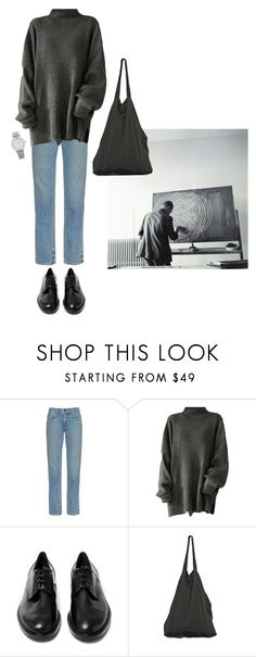 """#213"" by flaneurforever ❤ liked on Polyvore featuring Helmut Lang, Casadei, Laneus and Larsson & Jennings"