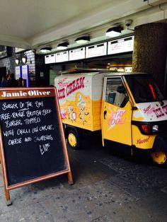Jamie Oliver kiosk in Picadilly