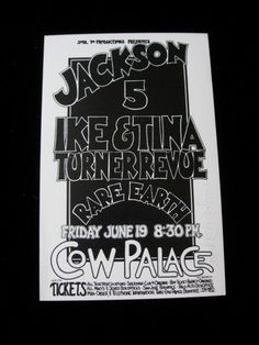 Signed Jackson 5 and Ike and Tina Turner by SherwoodsTreasures