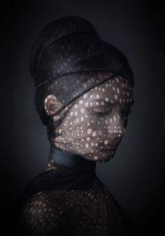 Captured by Danielle Kwaaitaal #portrait #veil
