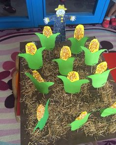corn-craft | Crafts and Worksheets for Preschool,Toddler and Kindergarten