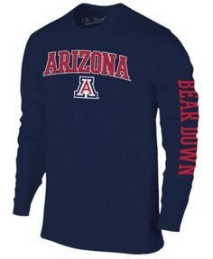 Colosseum Men Arizona Wildcats Midsize Slogan Long Sleeve T-Shirt c604ea8e8b4f