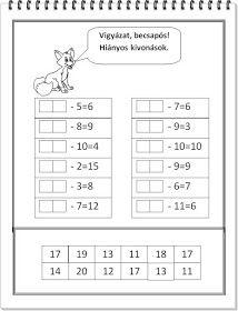 Fejlesztés? Csináld magad! : Már kevésbé light nyári matek gyakorló 2. Összeadás és kivonás Animals Name In English, Abs, Workout, Education, Words, Kindergarten, Crunches, Work Out, Abdominal Muscles