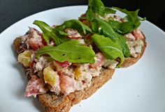 Gezonde tonijnsalade!