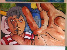 Acryl auf Leinwand 75x115