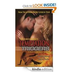 Temptation Triggers captures the wickedness of sexual fantasy, the mystery of unexplored territory and the fulfillment of open communication. Among these thought-provoking stories, two friends find themselves drawn into a dark erotic world, a woman encounters a mysterious man and a mature couple discovers hush-hush desires about each other. With different styles of writing, Temptation Triggers reveals erotica that is passionate and spellbinding.