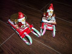 candy cane sleigh with candy on pinterest | Santa and his sleigh chocolate candy canes for my daughters school ...