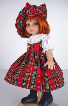 Plaid set for Patsy from Little Charmers on ebay ends 10/19/14. SOLD for one bid of $64.95.