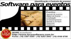Software para eventos controle de acesso eventos