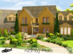 The Sims Resource: Kilarney Place by Jaws3 • Sims 4 Downloads