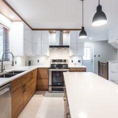 & & & & 34 - Simard Kitchen and bathroom Kitchen Reno, Kitchen Backsplash, New Kitchen, Kitchen Dining, Kitchen Remodel, Home Reno, Küchen Design, Beautiful Kitchens, Kitchen Furniture