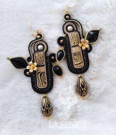 Soutache Pendant, Brooch, Instagram, Drop Earrings, Jewelry, Fashion, Moda, Jewels, Fashion Styles