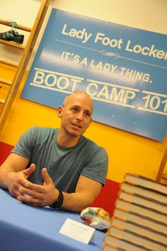 Harley Pasternak, New Balance ambassador and and co-host of The Revolution, kicked our butt during a 5-Factor workout.